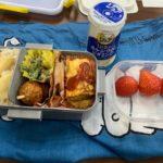 私のお昼ごはん